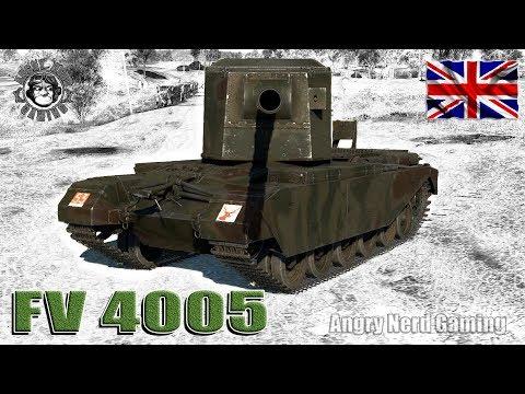 War Thunder: FV4005, British, Tier-4, Tank Destroyer