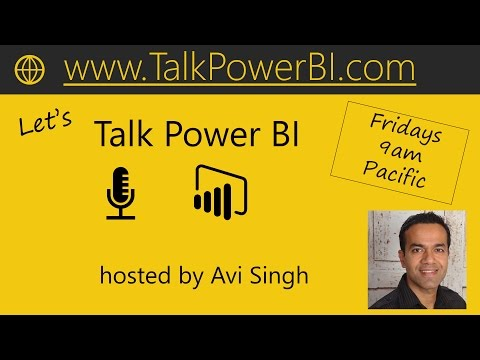 Let's Talk Power BI, Friday Mar 10th