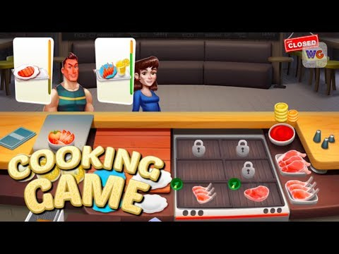 Cooking Games Cafe [iOS] IPhone Gameplay