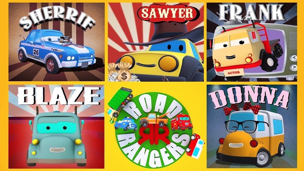 The Origin Of Road Rangers Car Cartoons For Children