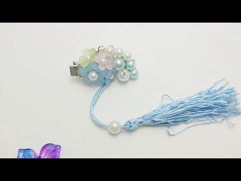 DIY Tutorial - Chinese Hair Accessories Flowers Ocean Pearls Hair Clips Hair Stick Hair Pins