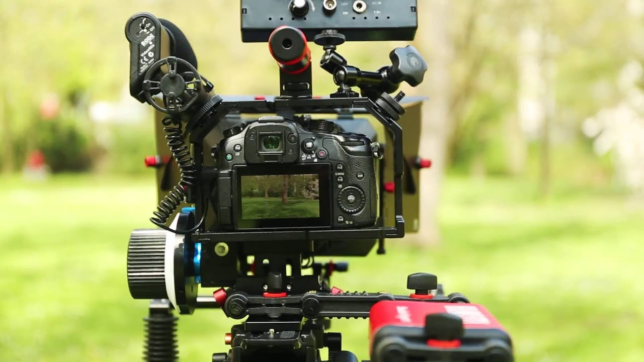 Shootvilla Cage Rig for Camera Panasonic Lumix Gh3//Gh4 and Sony A7//A7r//A7s