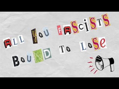 """Resistance Revival Chorus with Rhiannon Giddens """"All You Fascists Bound To Lose"""""""