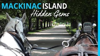 The Hidden Gems of Mackinac Island Michigan with RVer Tips!