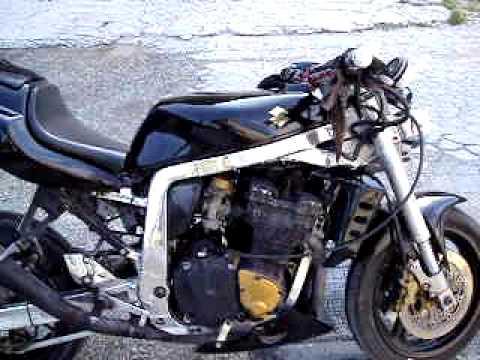 Suzuki 91 Gsxr 1100 Streetfighter Youtube