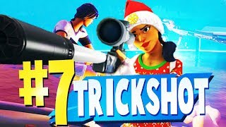 TOP 7 BEST TRICKSHOT & NO SCOPE Creative Maps In Fortnite | Fortnite Trickshot Map CODES