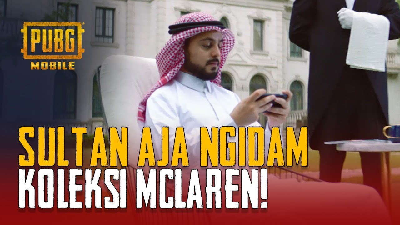PUBG MOBILE   Sultan kalau dah NGEBET mau McLaren!
