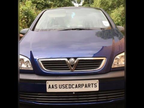 Vauxhall zafira A 1.6 petrol radiator removal 99-05 - YouTube