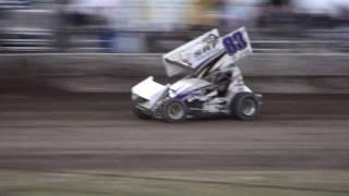 Wilmot - 410 Sprint wheelie action