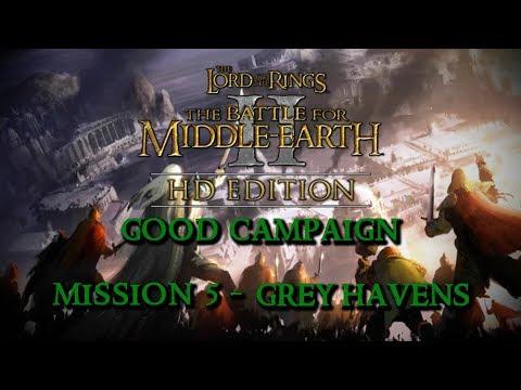 BFME2 HD 1.09 Good Campaign #5 - Grey Havens