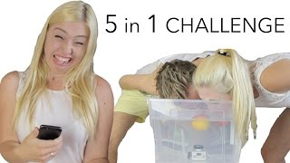 5 in 1 CHALLENGE ♥ BibisBeautyPalace