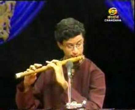 Carnatic Flute:Tejasvi Raghunath Playing for Doordarshan II