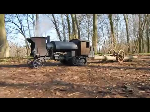 Lombard Steam Log Hauler - First  Run In The Woods