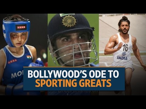 Bollywood's ode to sporting greats