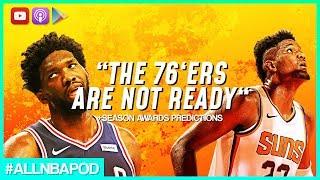 NBA 2018-19 Season Awards Predictions | All-NBA Podcast w/ JAHRONMON &R Rai-mahr