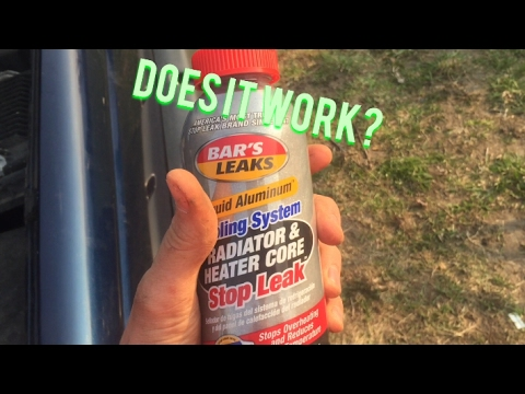 how to add stop leak to radiator