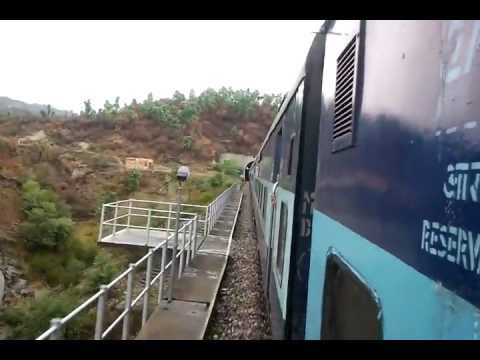 Journey From Jammu To Udhampur Via Train