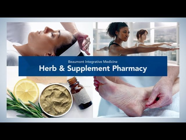 Herb & Supplement Pharmacy | Beaumont Integrative Medicine