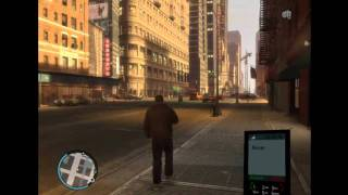 GTA IV Falls from SPACE
