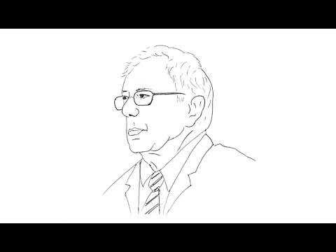 How to Draw Bernie Sanders