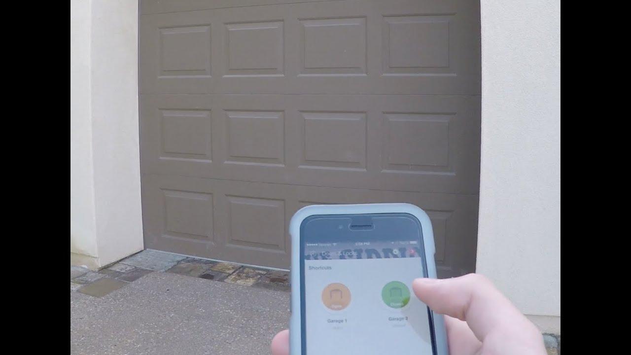smartthings garage youtube - Smartthings Garage Door