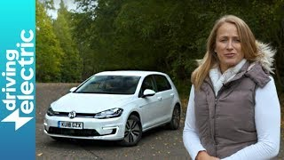Volkswagen e-Golf electric hatchback review - DrivingElectric