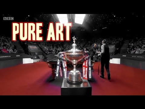 The highest form of Artistry (2018 World Snooker Championship)