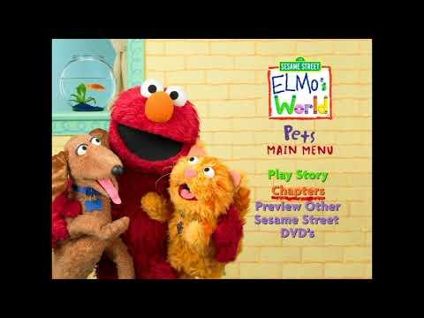 Elmo S World Pets Dvd Menu Walkthrough