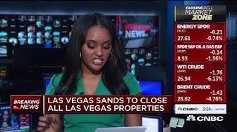 Las Vegas Sands will close all Las Vegas properties