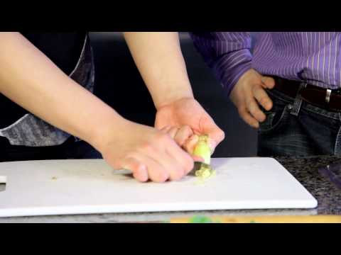 How to Wash and Peel Ginger - Cooking tip of the day