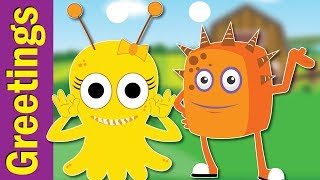 Nice To Meet You Song | Hello Song | Greetings Song | Kindergarten, EFL & ESL | Fun Kids English