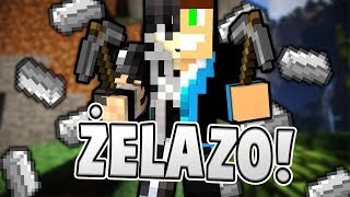 ZBIERAMY ŻELAZO! - MINECRAFT HUNTEZ SURVIVAL #2 /w Vertez