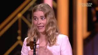 GOLDENE KAMERA 2019: Milena Tscharntke erhält den Nachwuchspreis
