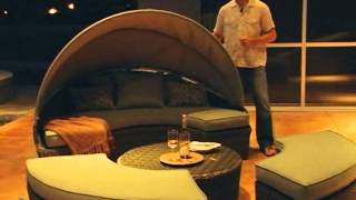 Rendezvous All-weather Wicker Sectional Daybed - Product Review Video