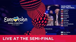 The exciting qualifiers announcement of the second Semi-Final