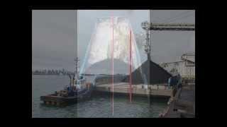 Coal Barge Loading