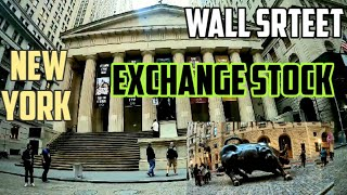 A Tour At Wall Street & New York Stock Exchange