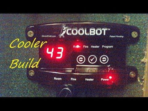 How to build a inexpensive walk-in cooler by installing a coolbot