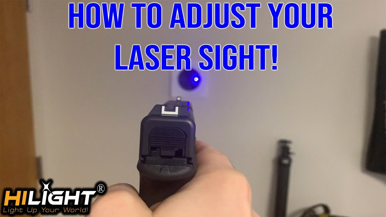 How to Zero in a Laser Properly!