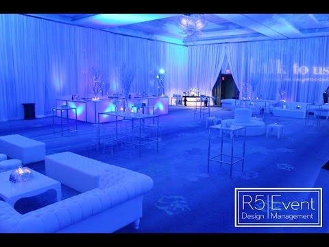 corporate event decor winter wonderland youtube. Black Bedroom Furniture Sets. Home Design Ideas