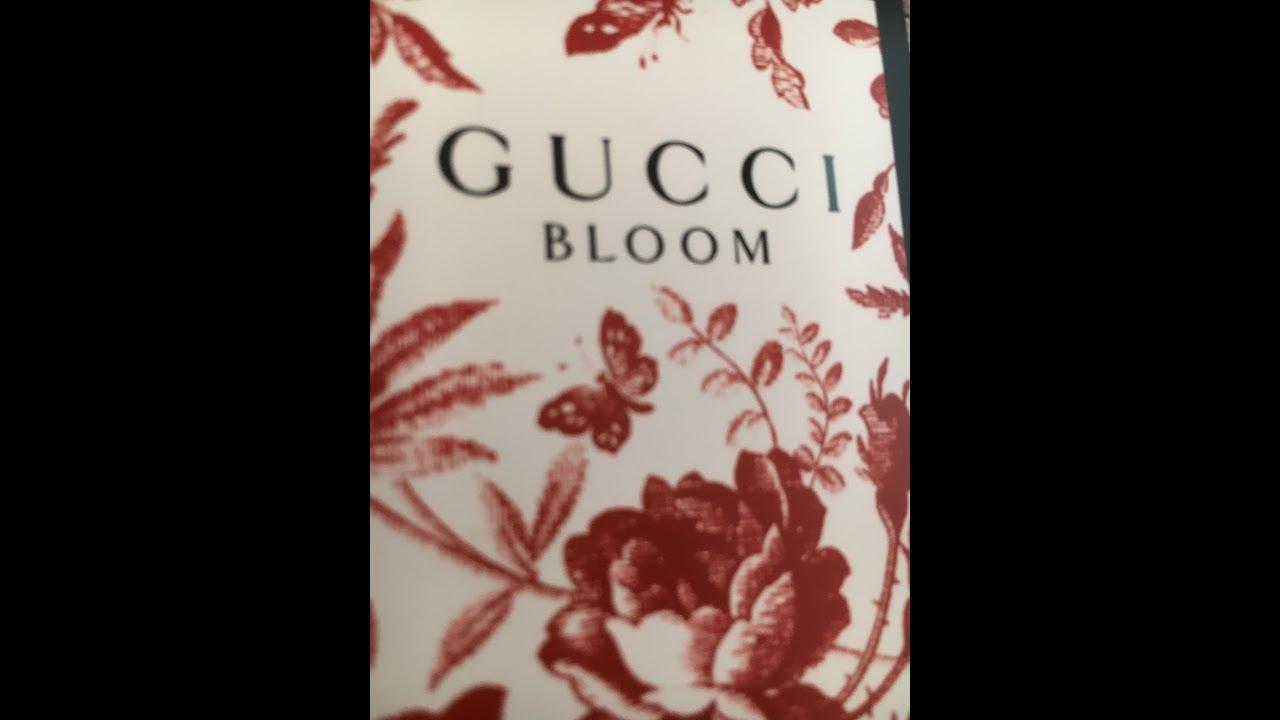 Recensione Gucci Bloom Eau De Parfum Youtube