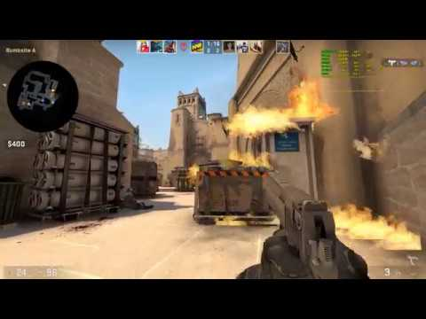CS:GO - Mirage - MG2 - Gameplay /w FPS - GTX 1070 Ti + i7-6700k Low