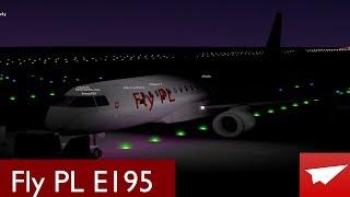 Volo Roblox -:- Fly PL E195 -:- Coneman Handy