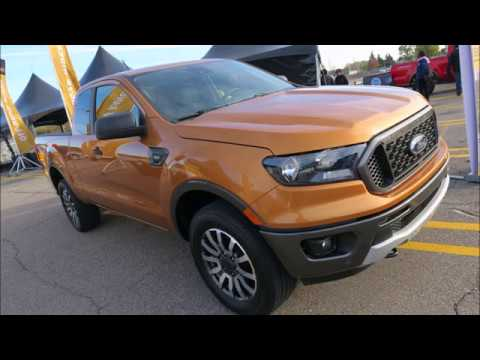 NEW Ford Ranger Mid-Size 2019 Pickup Debut FIRST LOOK FIRST RIDE
