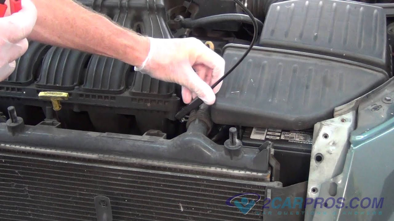 Radiator Fan Replacement Chrysler Pt Cruiser Youtube Fuse Box