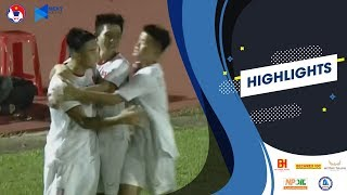 U18 Việt Nam thắng lớn trước Singapore tại giải U18 Đông Nam Á 2019 | VFF Channel