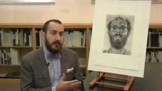 BMA Voices: Chuck Close and the halftone dot