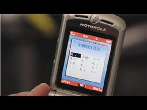 Cell Phone Faqs Symbols And Text Messages Youtube