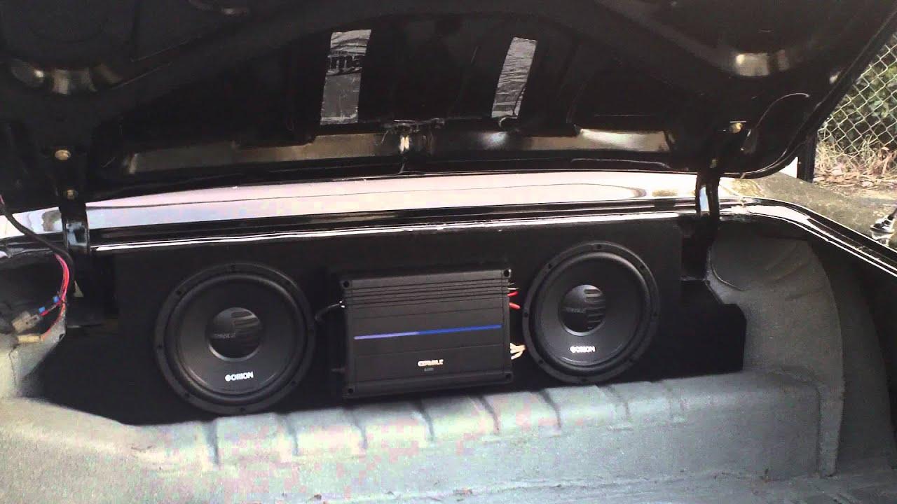 64 Impala Custom Speaker Install Youtube