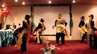 mouwasat hospital dammam in modern singkil dance w/ arabic muslim dance